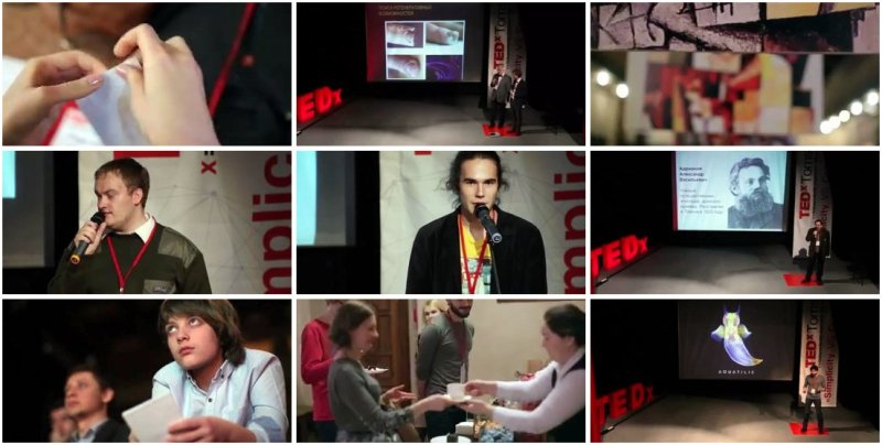 Backstage and Сapturing moments from TEDxTomsk
